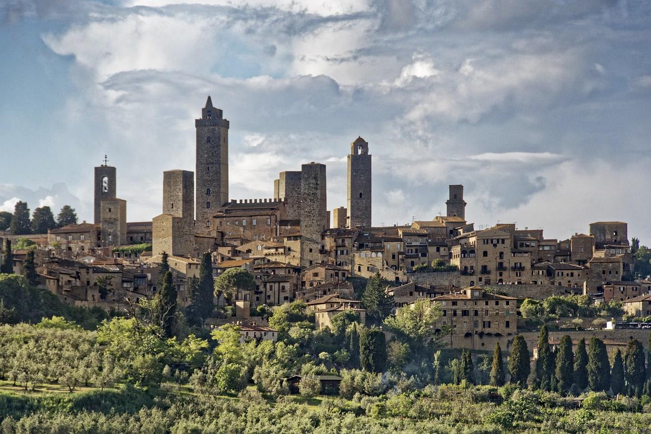 San Gimignano mesto veží