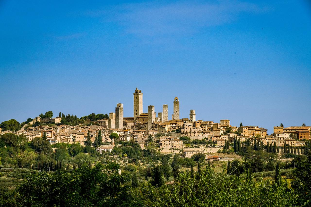 San Gimignano mesto veží 2
